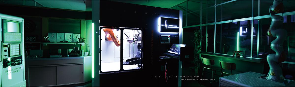 ロボットマシニングセンター